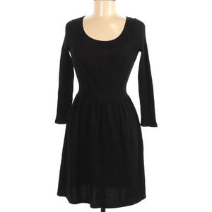 American Eagle Outfitters Sweater Dress Black XS